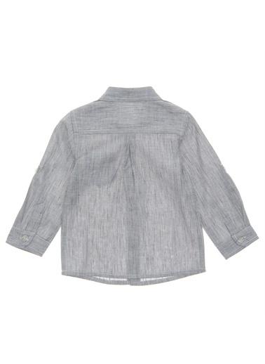 Panço Uzun Kollu Gömlek 19112081100 Gri